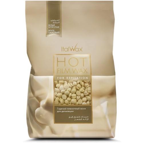 Воск для депиляции пленочный в гранулах Белый шоколад , в казахстане, в павлодаре, в алмате , в караганде