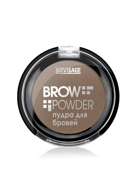 Пудра для бровей BROW POWDER (тон 1-LIGHT TAUPE)