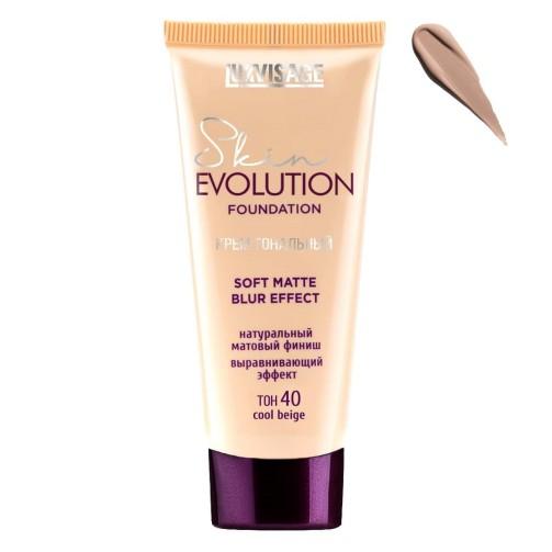 Тональный крем Skin Evolution soft matte blur effect (40 cool beige)