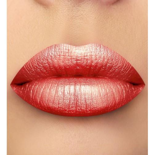 Помада для губ (тон 45 розово-коралловый с шиммером и глиттером)