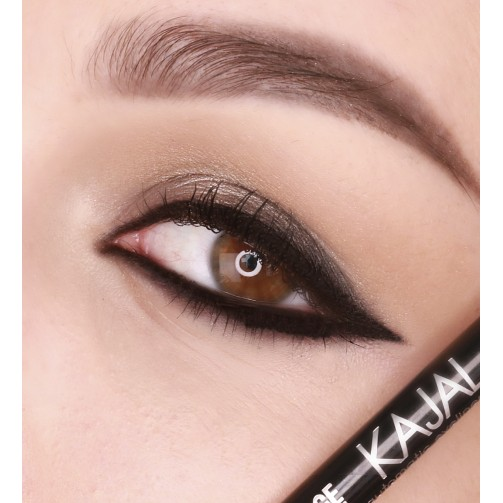 Карандаш механический для глаз LUXVISAGE KAJAL super stay 10h (ultra black)