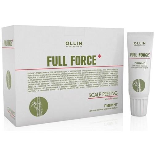 Пилинг для кожи головы с экстрактом бамбука Full Force