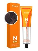 Крем-краска для волос N-Joy (5/12 светлый шатен пепельно-фиолетовый)