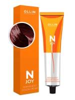 Крем-краска для волос N-Joy (5/26 светлый шатен фиолетово-красный)