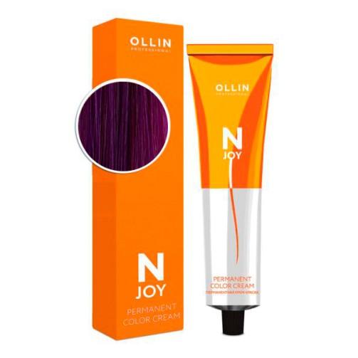 Крем-краска для волос N-Joy (0/25 фиолетово-махагоновый розовый)