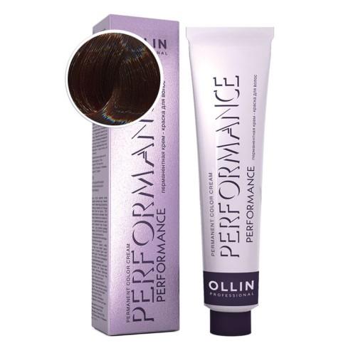 Крем-краска для волос Performance (6/3 темно-русый золотистый)
