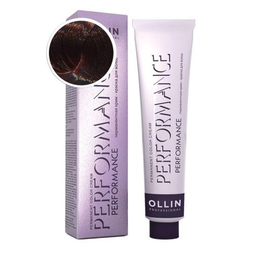 Крем-краска для волос Performance (6/75 темно-русый коричнево-махагоновый)