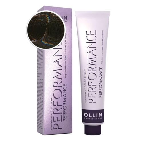 Крем-краска для волос Performance (6/09 темно-русый прозрачно-зеленый)