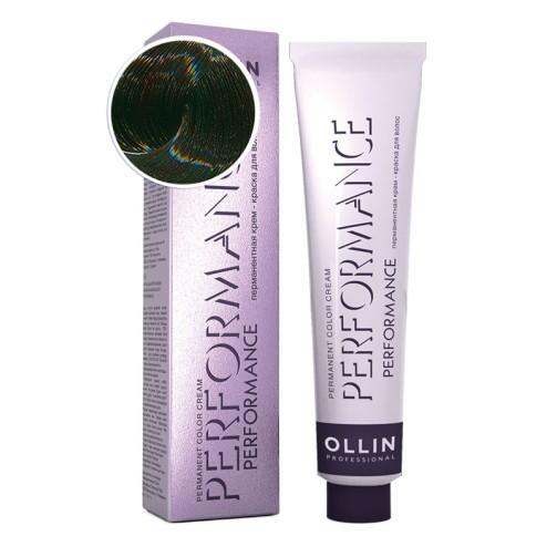 Крем-краска для волос Performance (0/99 зеленый)