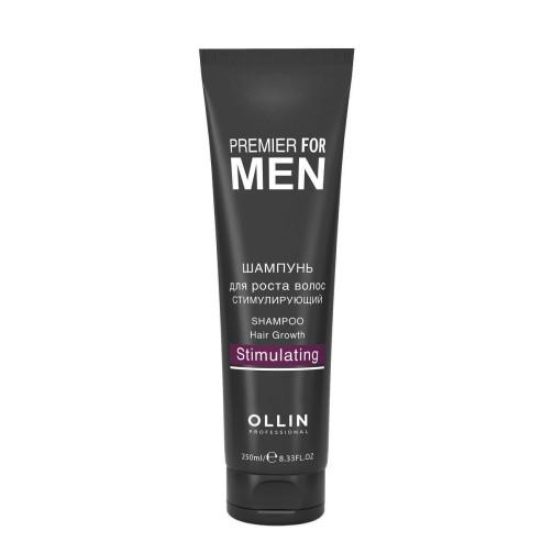 Стимулирующий шампунь для роста волос Premier for Men