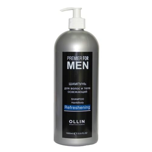 Освежающий шампунь для волос и тела Premier for Men